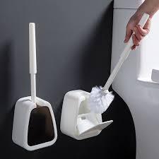 long handle toilet brush corner