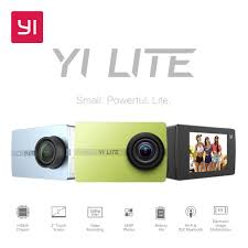 YI Lite <b>Action</b> Camera 16MP Real <b>4K Sports</b> Camera with Built in ...