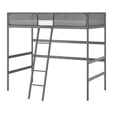 TUFFING - Loft bed frame, dark gray