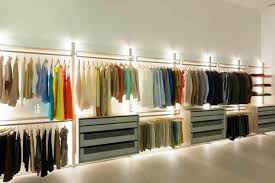 Image Light Gray Closet Lighting Lights In Closet Or Other Confined Areas Is Rather Messy Affair However Led Lighting Systems Alleviates The Need For Complex Lighting Birddog Lighting Blog Simple Led Lighting Options For Your Home Birddog Lighting Blog