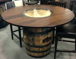 whiskey barrel end table awesome bar car interior design wine antique