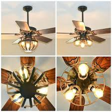 flush mount caged ceiling fan. Perfect Mount Flush Mount Caged Ceiling Fan Small Throughout Attractive  Pertaining To Industrial With   On Flush Mount Caged Ceiling Fan I