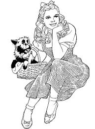 Small Picture Top 76 Wizard Of Oz Coloring Pages Free Coloring Page