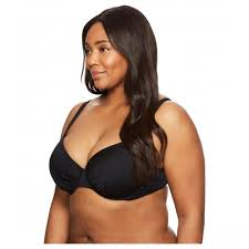 Jantzen Swim Size Chart Jantzen Plus Size Solids Over The Shoulder Underwire Bra