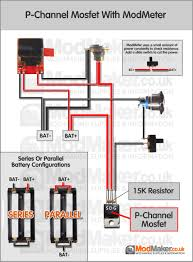p channel mosfet with modmeter wiring diagram rh modmaker co uk unregulated box mod wiring diagram box wiring pot diagram mos fetmod