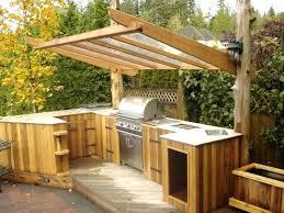 outdoor countertop ideas outdoor kitchen wood outdoor bar countertop ideas