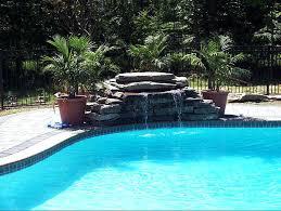 inground pools with waterfalls genderpacorg