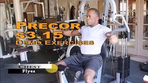 Dr Gene James Precor S3 15 Demo Exercises