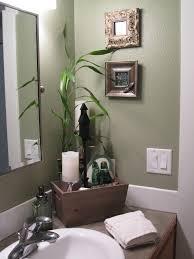 bathroom colors green. Spa-like Feel In The Guest Bathroom. Fresh Green Color Makes Narrow Bathroom Colors A