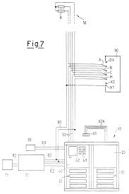 electric connection system for intercom and or video intercom drawing