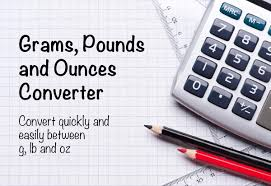 Lbs To Grams Conversion Chart Grams To Pounds And Ounces Converter G To Lbs And Oz