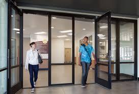 incorporated swing door that slides away