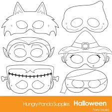 ⭐ free printable halloween mask coloring book. Halloween Masks Printable Halloween Costume Halloween Etsy Halloween Monster Halloween Coloring Halloween Crafts