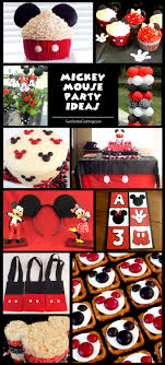 Mickey Mouse Clubhouse Birthday Party Decoration Ideas Homemade