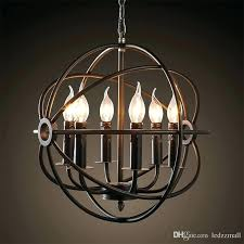 new restoration hardware orb chandelier and