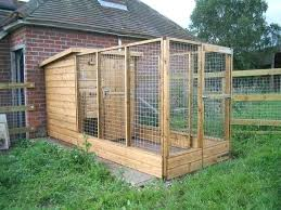 outdoor dog kennel plans diy building how build designs pen strong necessary consequently