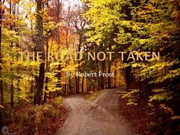 "robert frost ""the road not taken"" ppt video online  11 the road not taken by robert frost"