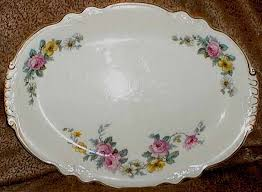 Rose Pattern China New Virginia Rose China China Replacement Homer Laughlin China