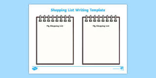 shopping lists shopping lists early years eyfs page borders frames