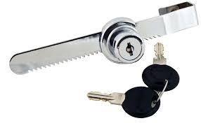 image of lock for sliding door part