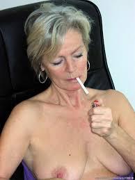 Older women smoking free porn