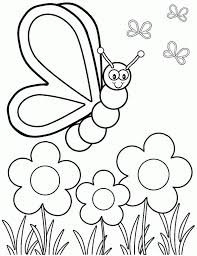 Teach your little one to write with these adorable personalized printables and coloring pages from great for kindergarten and homeschool printable. Coloring Rocks Butterfly Coloring Page Spring Coloring Pages Spring Coloring Sheets
