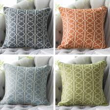 White couch pillows Wayfair Blue And White Throw Pillows For Living Room Geometric Jacquard Modern Couch Pillows Throwpillowshomecom Blue And White Throw Pillows For Living Room Geometric Jacquard