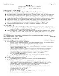 examples of summary of qualifications for resume template examples of summary of qualifications for resume