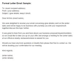 email writing template professional formal letter email sample formal email letter template