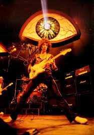 <b>Rainbow</b>, <b>Straight Between</b> The Eyes tour 1982Roger Glover, Bobby ...
