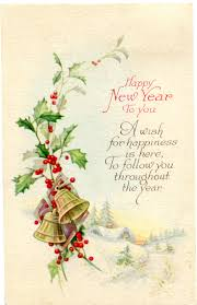 happy new years postcard vintage happy new year postcard graphic image vintage crafts and more