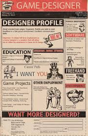Game-Designer-Cv (600928) | My Next Projects | Pinterest