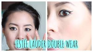 estée lauder double wear review first impressions foundation for oily skin you
