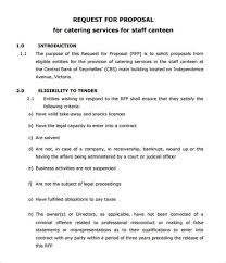 Sample Business Proposal Canteen Writing A Condolence Letter