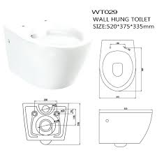 water closet sizes and dimensions new model western wall hung toilet standard size dimensions water closet