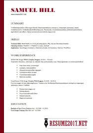 Functional Format Resume Gorgeous Resume Format 28 28 Latest Templates In Word Regarding