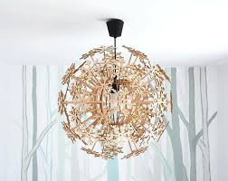 chandelier night light gift for her pendant light wooden chandelier plywood lamp night light home decor