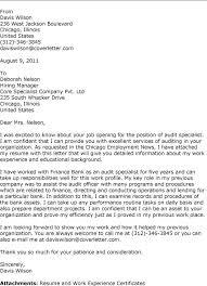 cover letter examples auditor internal audit cover letter