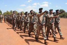 Image result for south african soldiers training