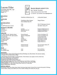 Broadway Resume Sample Nice Amazing Actor Resume Samples To Achieve Your Dream Check More 3