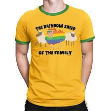 FREE WILL SHIRTS The Rainbow Sheep of The Family - <b>Mens Gay</b> ...