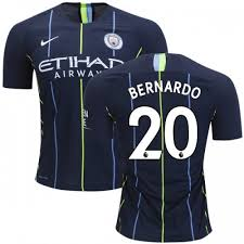 Cheap Authentic Bernardo Silva Shirt Man City Youth 20