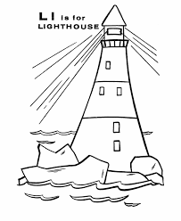 Small Picture Printable Coloring Pages Of Lighthouses Coloring Home