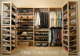 Wood closet shelving Storage Solid Wood Closet Organizers Simple Closet Non Toxic Solid Wood No Particle Board