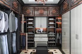 man s built in asian style master bedroom walk in