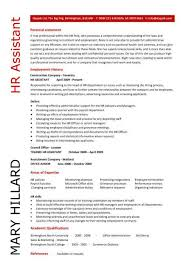hr resume samples hr assistant cv 5 hr assistant cover letter 5 resume samples for hr