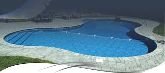 Inground pools Grecian Banner1 Combined Pool Spa Luxury Inground Pools Legacy Pools Steel Pools Vinyl Finishes
