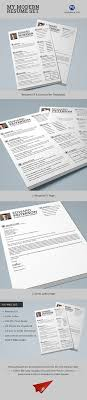 Modern Typographic Resume Set The Worlds Best Photos By Typography Prime Flickr Hive Mind