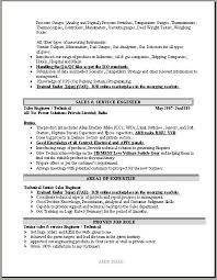 technical sales resumes sample demonstration speech outline technical supervisor resume