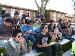 students explore nau programs tuba city junior high school tcjh